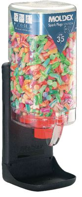 Ear plugs MOLDEX Dispenser box with 500 pairs,7850