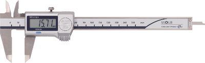 Caliper digital MITUTOYO depth gauge rectangular, data output,300C / 0.01 / IP67