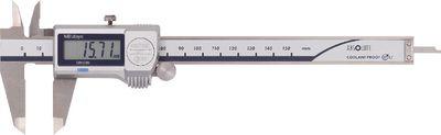 Caliper digital MITUTOYO depth gauge rectangular, data output,200G / 0.01