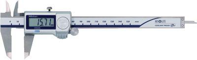Caliper digital MITUTOYO depth gauge rectangular, data output,150G / 0.01