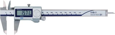 Caliper digital MITUTOYO carbide external measurement surfaces,200G / 0.01