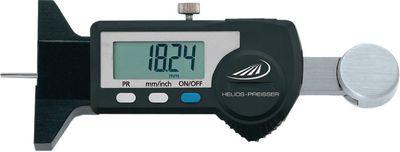 Dubinomjer digitalni DIGI-MET HELIOS-PREISSER, measuring tip O 2 mm,25 / 0.01
