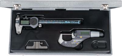 Measuring tool set TESA 3 pieces, in plastic case,DUO-SET 16