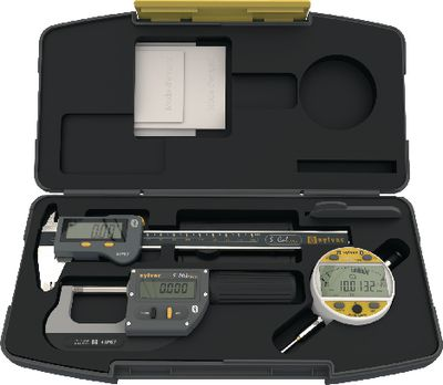 Measuring tool set SYLVAC IP67 Bluetooth 3 pieces,WORK ANALOG NANO-DIGITAL / BT