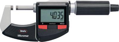 Mikrometar digitalni vanjski MICROMAR 40 ER,0...25 / 0.001 / IP40