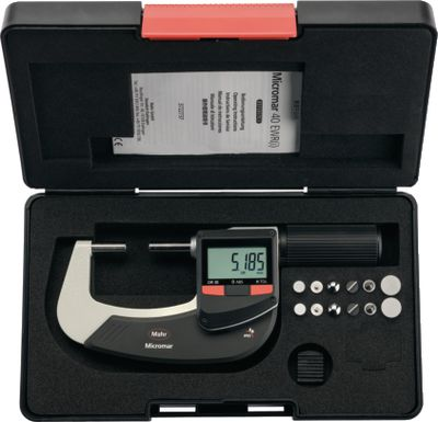 Digital micrometer Micromar 40EWRi-V wireless, non-rotati,0...25 / 0.001 / IP52