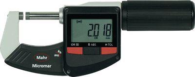 Mikrometar digitalni vanjski MICROMAR 40 EWRi-L quick spindle setti,0...25 / 0.001 / IP65