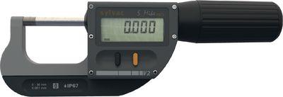 Digital micrometer SYLVAC S_Mike PRO Bluetooth,0...25 / 0.001 / O 2 / IP67 / BT