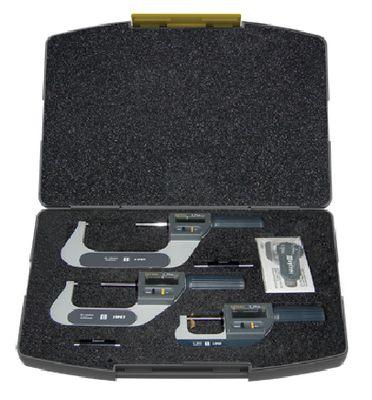 Set digitalnih mikrometara SYLVAC IP67 S_Mike 0...102 / 0.001 / O 6.5