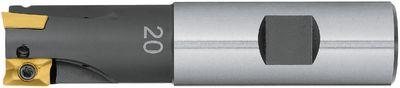 Corner groove cutter 90° FUTURO Cylindrical, internal cooling,16