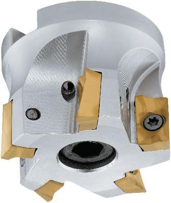 Corner cutter head 90° FUTURO Internal cooling, extra rigid,100