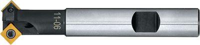 Bevel mill cutter 45° FUTURO internal cooling,11