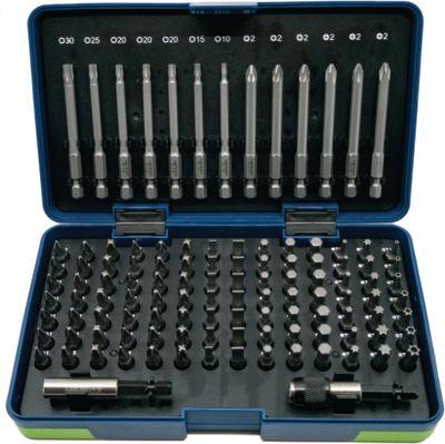BITS garnitura 6,3mm ravni/PH/PZ/Torx/Inbus (113kom) NERIOX