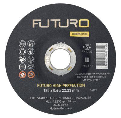 Rezna ploča 125x0,6mm Fe/INOX FUTURO