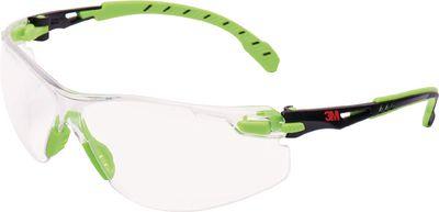 Zaštitne naočale 3M Solus 1000,zelene/crne, prozirne leće