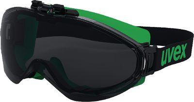 Full-vision welding safety glasses UVEX ultrasonic flip-up,045