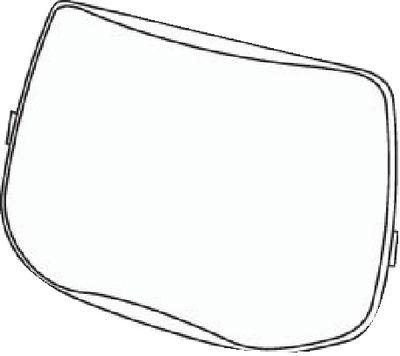 External viewing pane scratch-proof,55 (pack of 10)