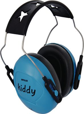 Children's ear protectors KIDDY,sky blue