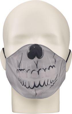 Maska za lice NERIOX dvoslojna, Lubanja