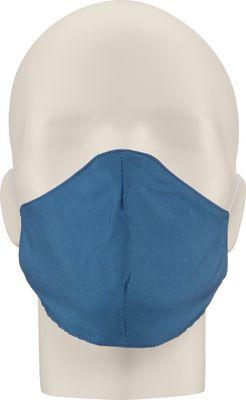 Maska za lice NERIOX dvoslojna, Tamno plava