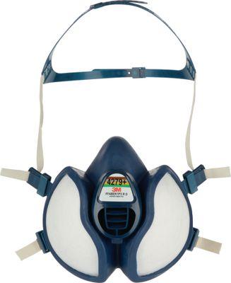 Respirator s polumaskom 3M™ 4279 za zaštitu plinova, para i čestica koji ne zahtijeva održavanje