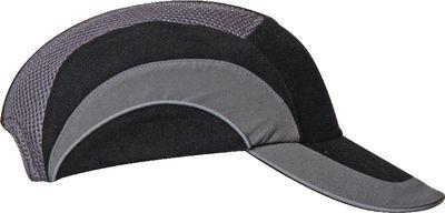 Industrial bump cap HardCap A1+,black/grey