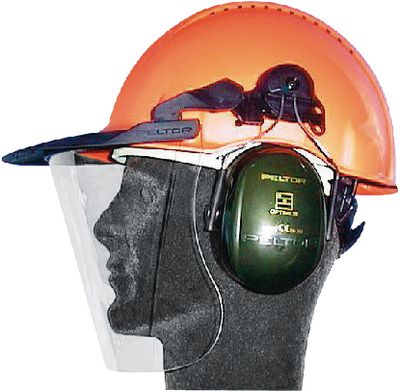 Combined head and hearing protection 3M PELTOR,G30