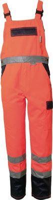 High-visibility overalls PLANAM orange,42