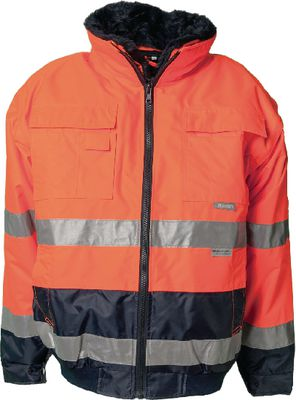High-visibility jacket Comfort PLANAM orange,L
