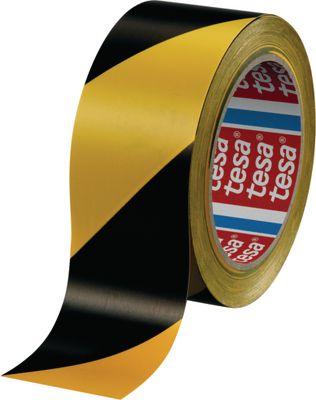 Podna traka za označavanje i upozorenje tesa®, 60760, 50 mm x 33 m, žuta/crna