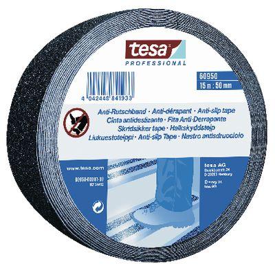 Anti-slip tape tesa® 60950,25 mm x 15 m black