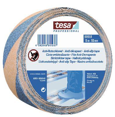 Anti-slip tape tesa® 60951,50 mm x 15 m black/yellow